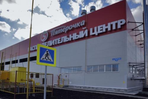 Склад сраспредцентром Х5 Retail Group открылся вТюменской области