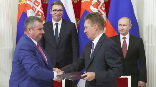 РФ позволила Сербии осуществлять реэкспорт русского газа