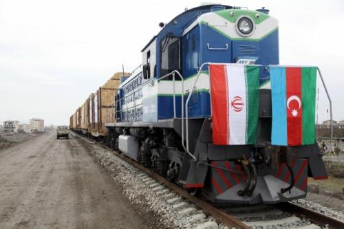 Астара (Иран): 1-ый испытательный поезд пущен пожелезной дороге Астара (Азербайджан)